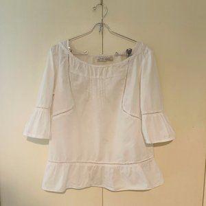 Zara 100% Cotton Blouse